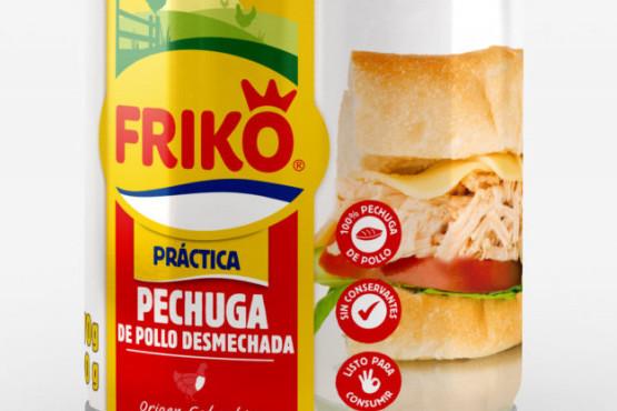 Pollo en lata Friko con nueva presentación